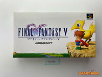 FINAL FANTASY V 5 Nintendo Super Famicom SFC JAPAN Ref:314635