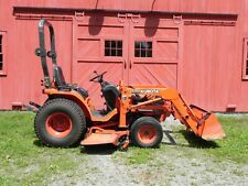 2004 Kubota B7510 tractor 4x4 used with loader and mower deck
