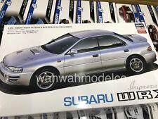 Hasegawa 1/24 Subaru Impreza WRX Plastic Model 20333