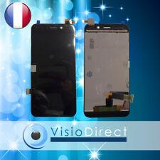 """Ecran complet pour Wiko Wim Lite 5"""" noir vitre tactile + LCD"""