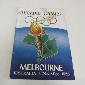 Olympic Games: Melbourne - 22 Nov-8 Dec, 1956 - Booklet - Organising Committee