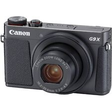 Canon PowerShot G9X Mark II (Black) & FREE 64GB SDXC *NEW*