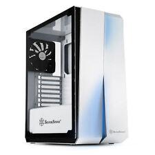 Silverstone SST-RL07W-G (White + Tempered Glass Window) ATX/MATX Case