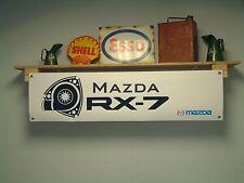 Mazda RX-7  - pvc workshop / garage automotive  banner -  RX7