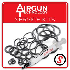 AIRGUN TECHNOLOGY AGT VULCAN URAGAN O-Ring seal service kit + OPTIONAL GREASE