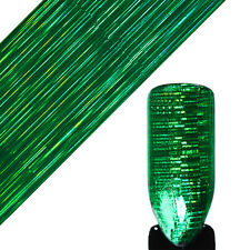 Holographic Starry Nail Foil Green Pine Needles Laser Nail Art Transfer Stickers