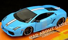 LAMBORGHINI GALLARDO LP 560-4 1:24 Car Metal Model Die Cast Miniature Blue