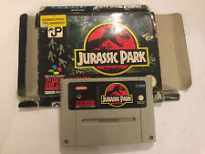 SUPER NINTENDO ENTERTAINMENT SYSTEM SNES CARTRIDGE PAC JURASSIC PARK PAL