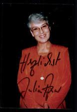 Julia axen foto original firmado # bc 44278