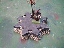 Altar of Skulls UNPAINTED wargame terrain Warhammer KoW Warmachine Malifaux