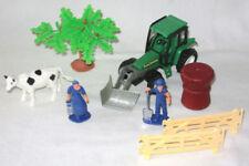Coches, camiones y furgonetas de automodelismo y aeromodelismo tractores de plástico