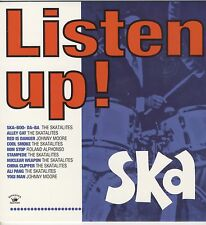 VARIOUS - Listen Up! - Ska NEW CD £9.99 KINGSTON SOUNDS