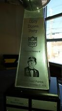 "Lombardi Fantasy Football Trophy-19"" 24 Plates Custom Engraved"