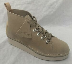 BNIB Clarks Originals Ladies Nala Hike Sand Suede Ankle Boots