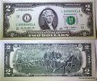 USA billet neuf 2 dollars L PORTE CHANCE DANS LA TRADITION AMERICAINE 2009