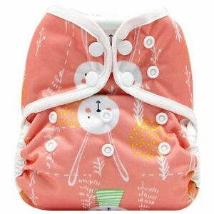One Size Cloth Diaper Cover Breathable PUL Baby Nappy Adjustable Fit 8-35 Pounds