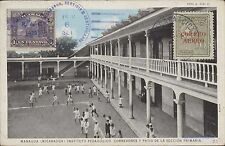 NICARAGUA INSTITUTO PEDAGOGICO CORREDORES Y PATIO DE LA SECCION PRIMARIA 61439