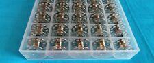 50 Sewing Machines CB Spools + Bobbin Box for Pfaff,Bernina,AEG,W6,privileg-2