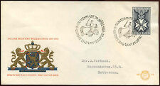 Netherlands 1965 Military William Order FDC First Day Cover #C27213