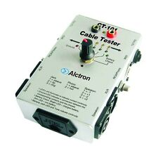 Alctron Cable Tester al6001 Sonido Audio Studio Portátil prueba batería máquina