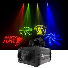 American DJ ADJ GOBO PROJECTOR IR LED Light w/ 4 Colors+4 Patterns