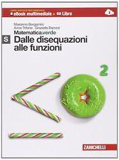 Matematica.verde. Con Maths in english. Modulo S.verde. Dalle disequazioni