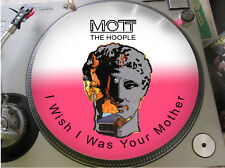 "Mott The Hoople - I Wish I Was Your Mega Rare 12"" Picture Disc Single Promo LP"