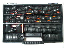 Superseal Gummitüllen-Set 2-6-polig 44 Teile + Box Auto Motorrad Boot