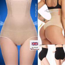 UK Ladies Slimming High Waist Magic Knickers Stomach Flattening Underwear Briefs