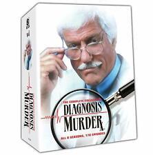DIAGNOSIS MURDER complete series season 1 2 3 4 5 6 7 & 8. USA region 1. New DVD