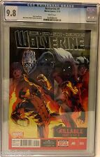 WOLVERINE # 9 CGC 9.8! RED HOT! MARVEL NOW!