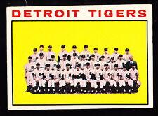 1964 TOPPS #67 DETROIT TIGERS TEAM CARD W/AL KALINE & JIM BUNNING
