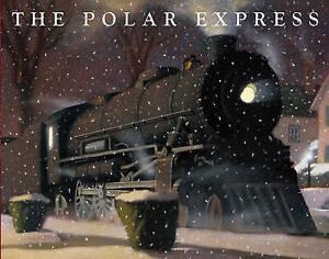 The Polar Express by Chris Van Allsburg (Paperback) Book