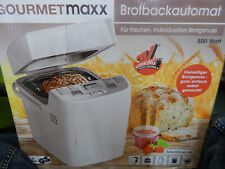 GourmetMaxx  Brotbackautomat Timerfunktion Weiß Brot Backautomat
