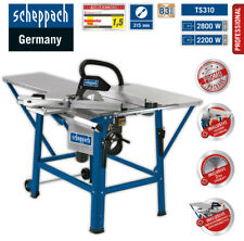 Scheppach Tischkreissäge TS310 400V 2.HM-Blatt TVL+TVB+Schiebschlitten