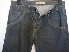 TT8) homme levis 503 loose coupe droite braguette zippée jeans bleu Taille 32 Jambe 30