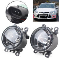 2PCS Front Fog Lights Bumper Fog Lamp for Ford Focus 2012 2013 2014 Left&Right