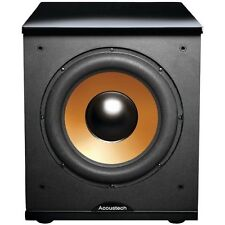 Bic America Acoustech H-100ii Subwoofer System - 150 W Rms - Black Lacquer, Wood