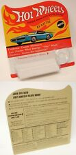 Hot Wheels Redline  BP Empty Blister with mail Away coupon on back