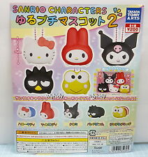Sanrio Hello Kitty XO Melody Keroppi  Big Head Mascot Part 2  Takara Tomy ARTS