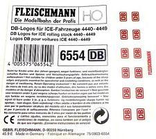 DB ICE Logos 6554 Fleischmann 4440 4441 4442 4443 4444 4445 4446 4447 4448 H0 #µ