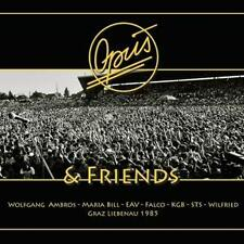 Opus & Friends/Live Graz Liebenau 1985 Falco EAV Ambros Wilfried STS ovp DVD+/CD