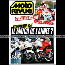 MOTO REVUE N°2840 HONDA 600 SHADOW VFR 750 SUZUKI GSXR KAWASAKI GPX R KTM 125 GS