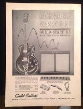 Vintage Guild Starfire  Magazine Ad