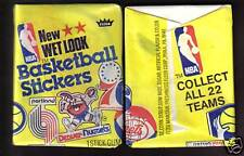 1978 Fleer Basketball Stickers Pack from Original Box!