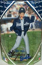 New York Yankees Barbie NY doll MLB Baseball Xmas Louisville Slugger bat gift