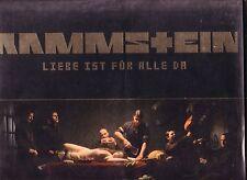 """RAMMSTEIN """"Liebe ist für alle Da"""" 11 Track Doppel Vinyl + Booklet Sehr RARE MINT"""