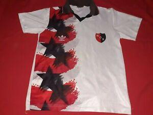 Newells old boys soccer jersey adidas - original - shirt - Argentina - 1995