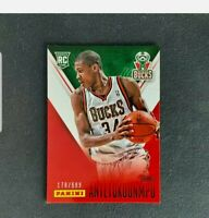 2013-14 Panini Giannis Antetokounmpo RC #38 Rookie Card Father's Day SP /599