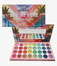 Okalan Take Me Home 32 Color Matte Shimmer Bright eyeshadow Palette